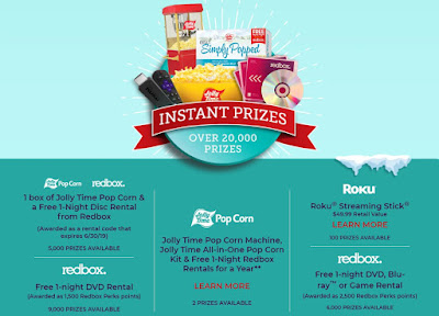 Spin to win redbox