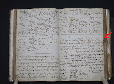 Climbing My Family Tree IQuaker Marriage Record for George Harland & Elizabeth Duck (Nov 27, 1678))