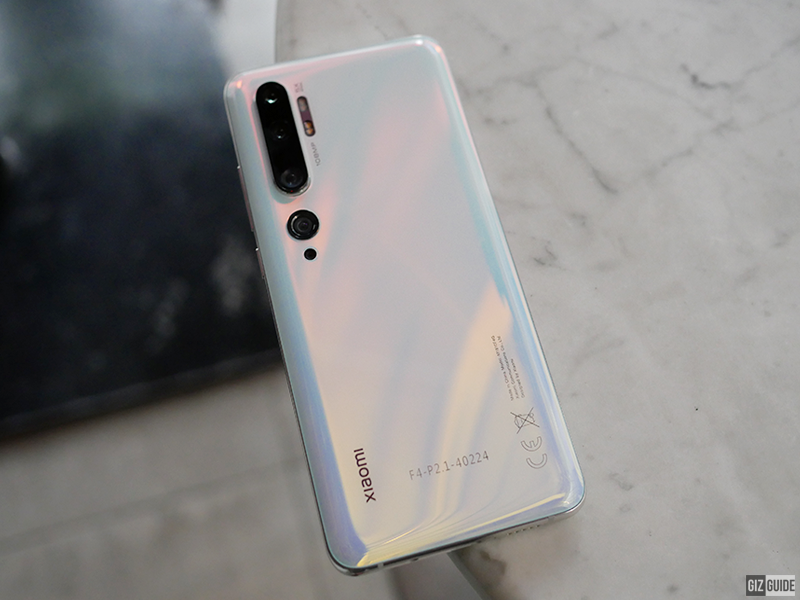 The Mi Note 10 with 108MP camera