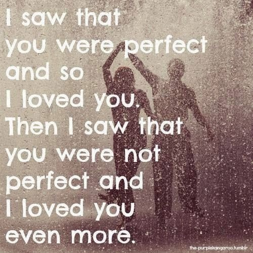 I Loved You Then I Love You Now Quote