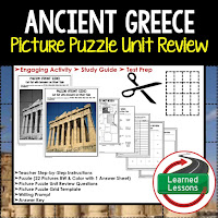 Ancient Greece, World History Test Prep, World History Test Review, World History Study Guide, World History Games, Ancient World History Bundle, Ancient World History Curriculum