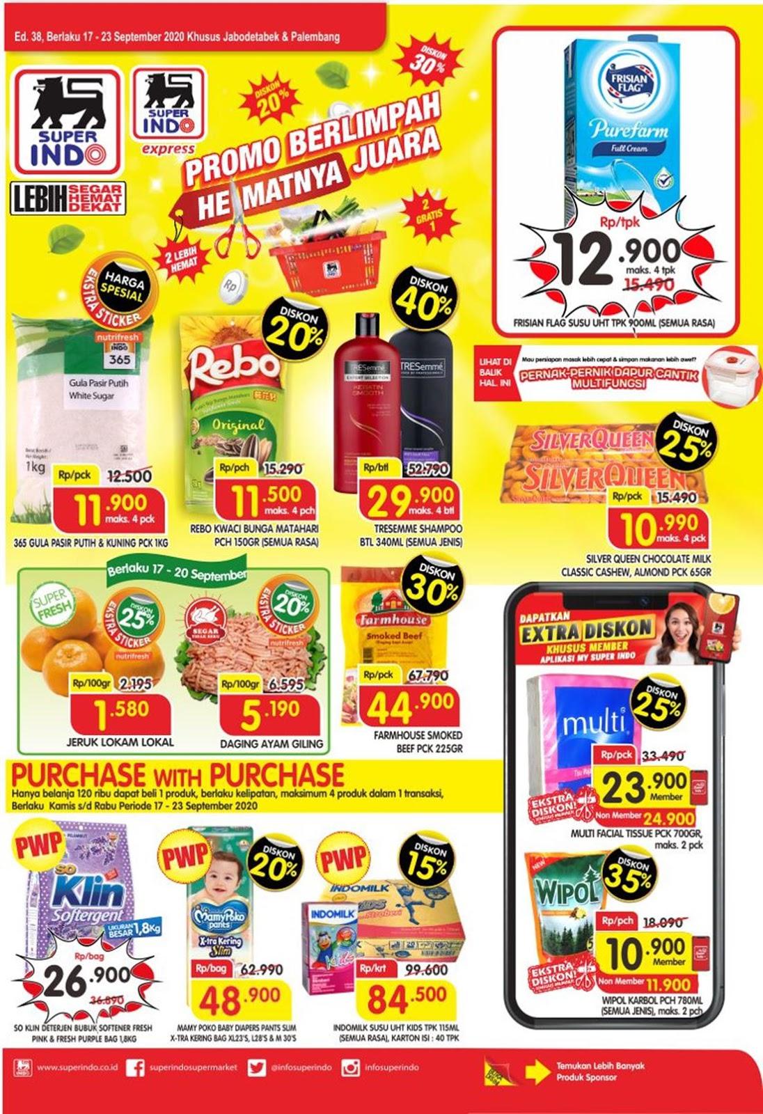 Katalog Superindo Promo Superindo Mingguan 17 23 September 2020 Harga Diskon