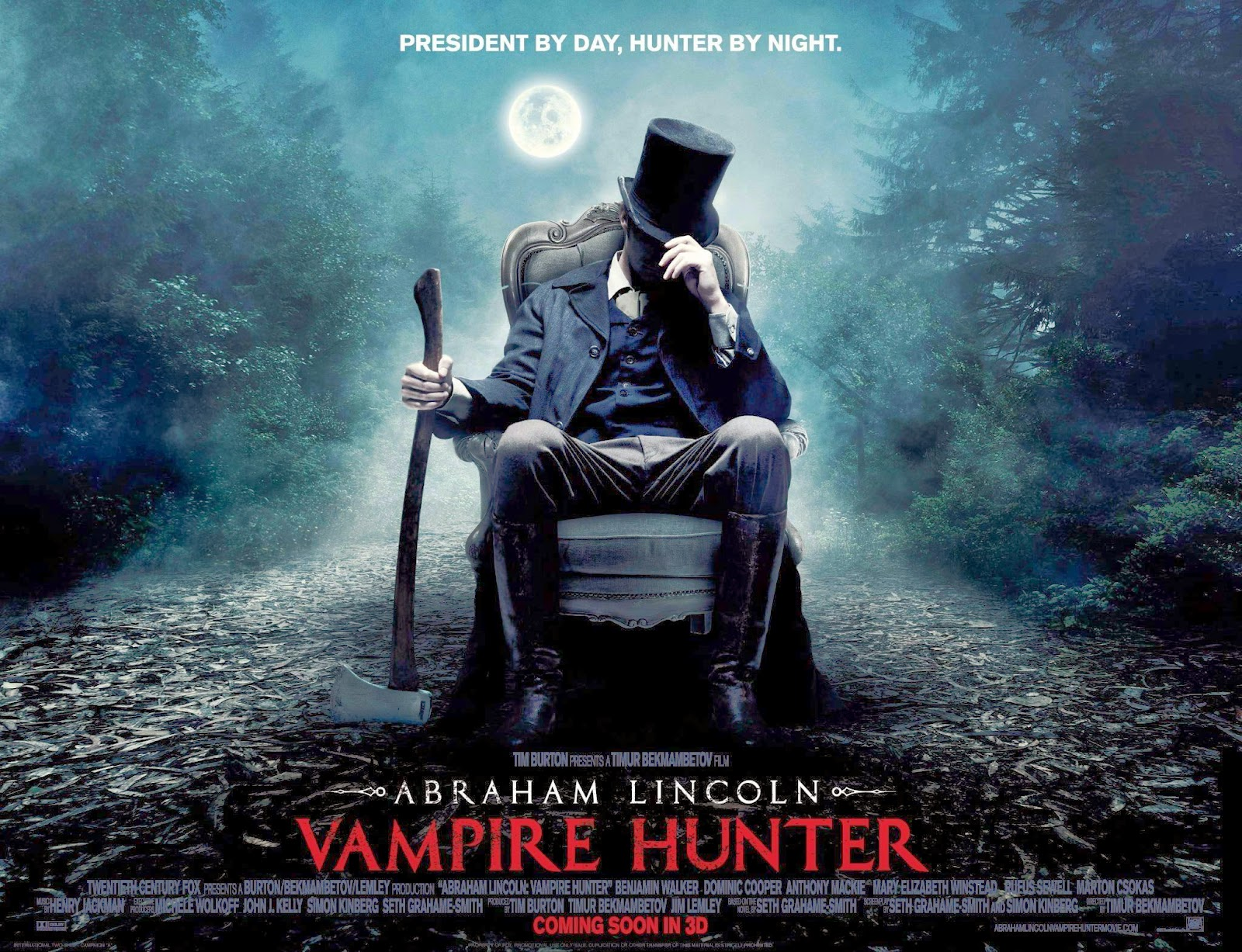 Abraham Lincoln Vampire Hunter Wallpapers | HD Wallpapers ...