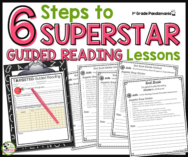 6 Steps to Guided Reading Lessons that Rock