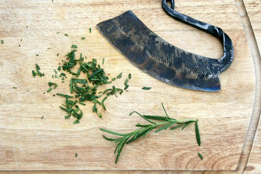 Herb Chopper - Hand Forged Kitchen Utensils