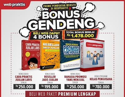 BONUS GENDENG BIKIN WEBSITE .COM & TOKO ONLINE