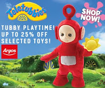 Teletubbies up to  25% off at Argos