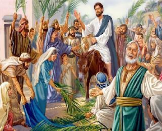 Cantos missa Domingo de Ramos