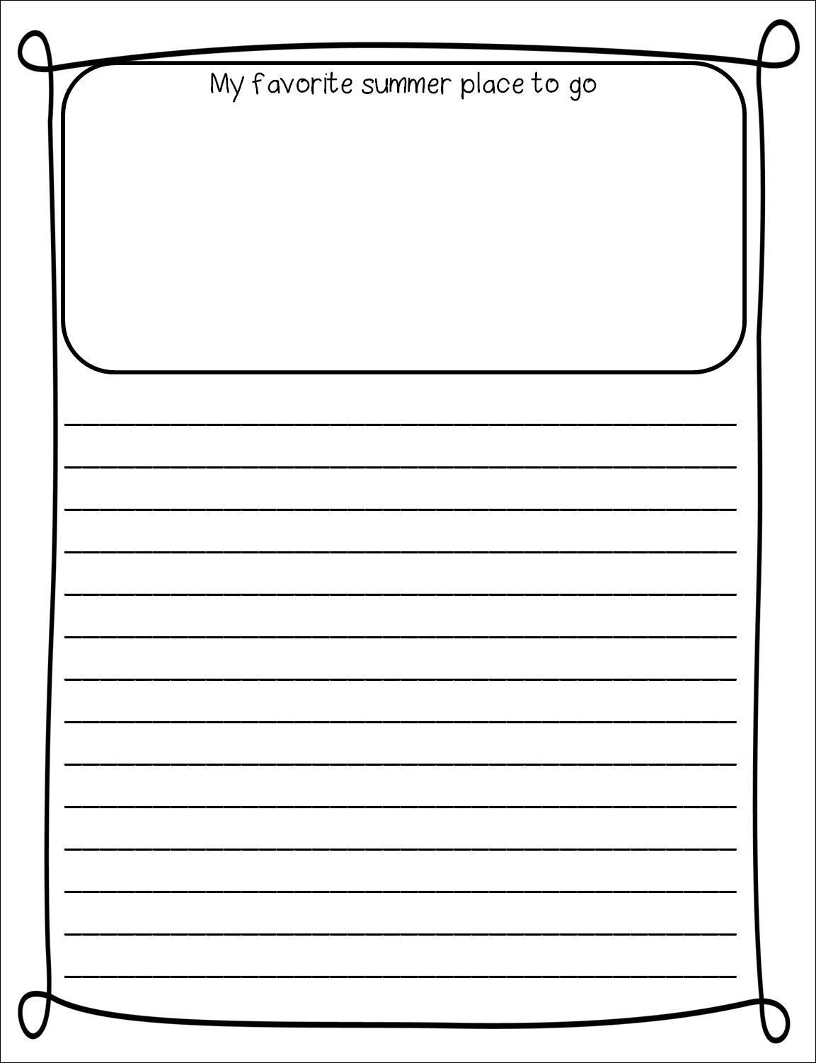 STEP 1 for Custom Writing Paper  dltkcardscom