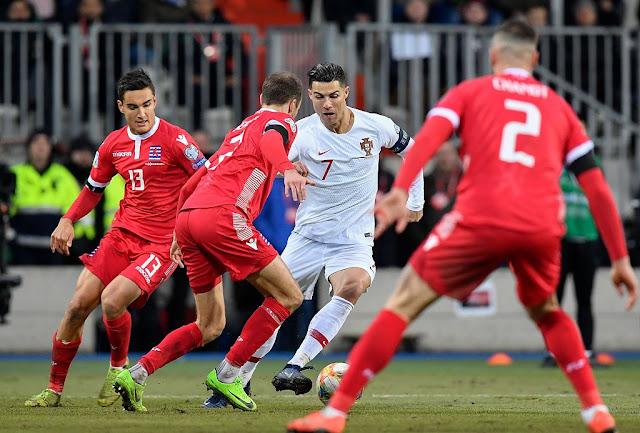 Cristiano Ronaldo scores 99th Portugal goal