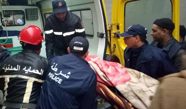 إصابة ستيني بصعقة كهربائية في أشغال بناء بأولاد فارس
