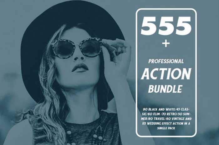555+ Professional Photoshop Action