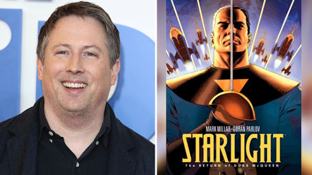 ✅ STARLIGHT de Mark Millar, será dirigida y escrita por Joe Cornish