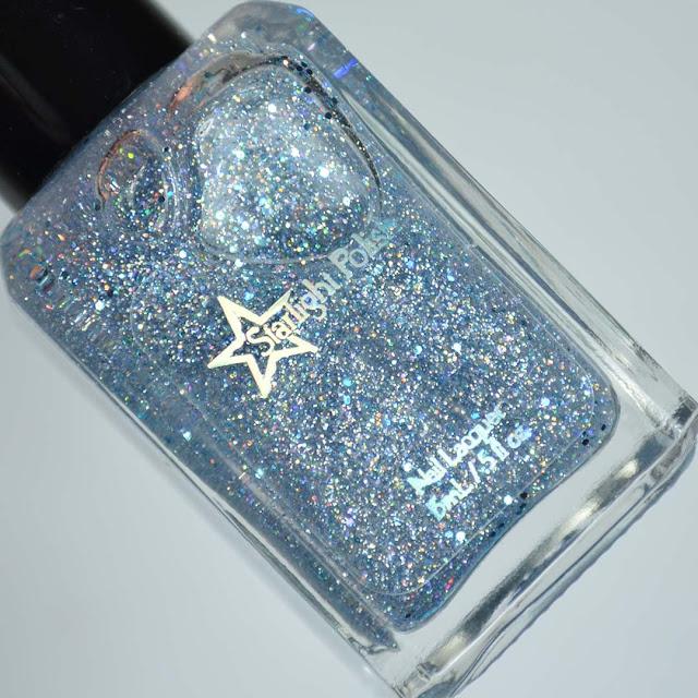 winter glitter topper nail polish