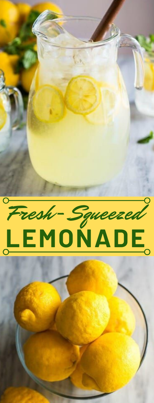 EASY HOMEMADE LEMONADE #healthydrink #delicious #Freshdrinks #cocktail #sangria