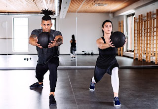 weight loss with gym training