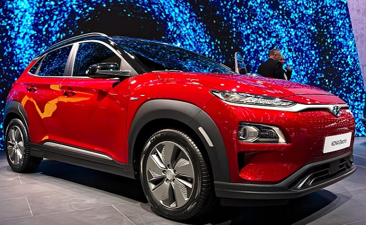 Hyundai kona electric car- Mileage, Price, Feature, Specification