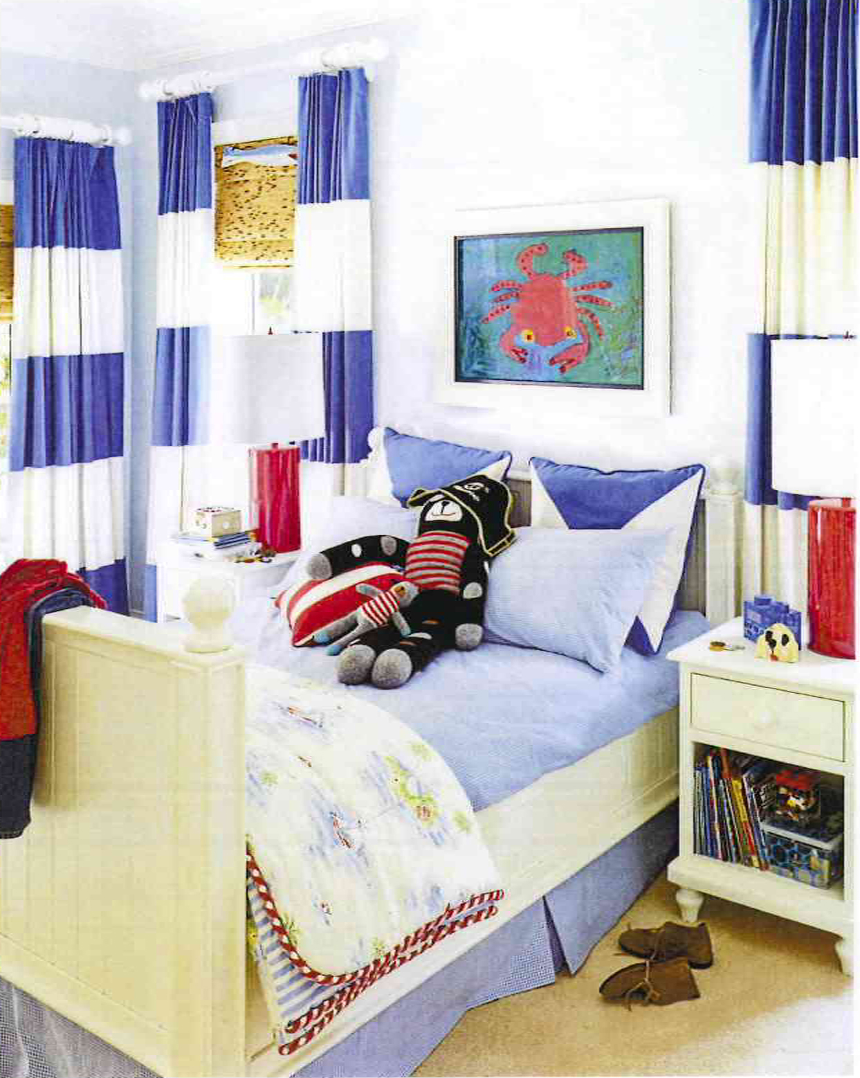 Southern Living: Preppy Style: Lallie's Room Design
