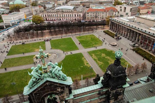Vistas desde La catedral de Berlín