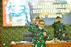 Dankodiklatad laksanakan silahturahmi lanjutan dengan para ketua IMI