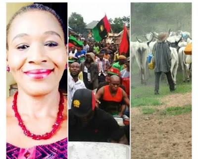 IPOB boys were more dangerous than Fulani herdsmen' – Kemi Olunloyo