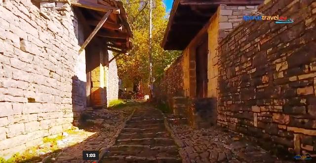 Γιάννενα: Μονοδένδρι . ...Εκεί Που Παίρνεις Το Μονοπάτι Για Το Φαράγγι Του Βίκου..[Βίντεο]