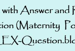 NCLEX RN Questions and Answers with Rationale 2019, 2020