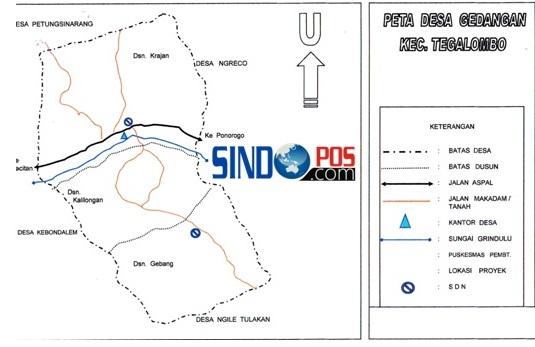 Profil Desa & Kelurahan, Desa Gedangan Kecamatan Tegalombo Kabupaten Pacitan