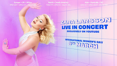 It's Zara Larsson Day! Like Those Genuine OG Elite Entertainers From Past Decades, Thee Young Pop Phenom Rolls Out Her New Album Like No Other!