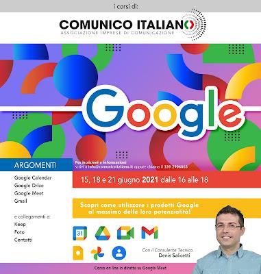 Corso Google Workspace
