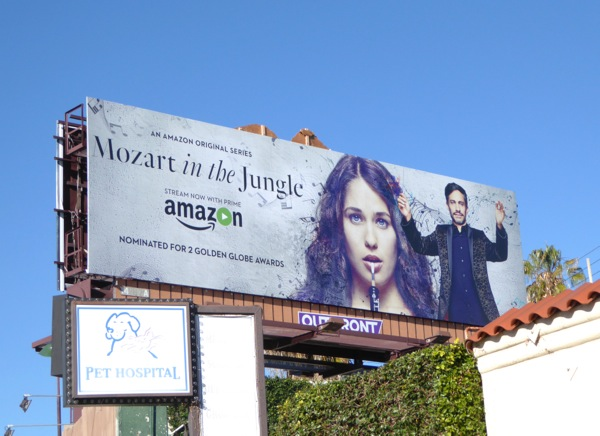 Mozart in the Jungle season 2 billboard