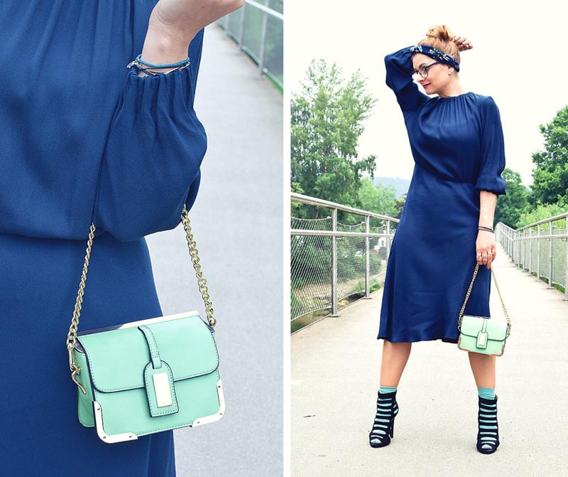 Modeblog, Midikleid Streetstyle