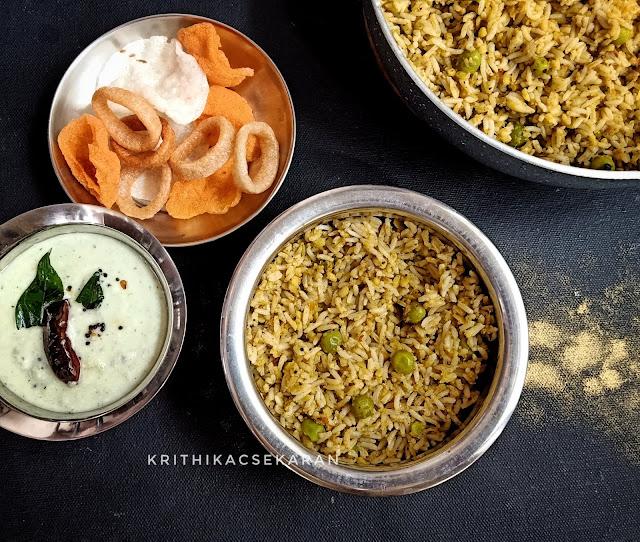 Khichdi Style pulao