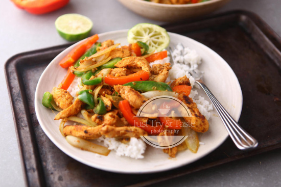 Resep Simple Chicken Fajitas JTT
