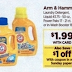 Arm & Hammer Laundry Detergent 99¢ at Rite Aid This Week!