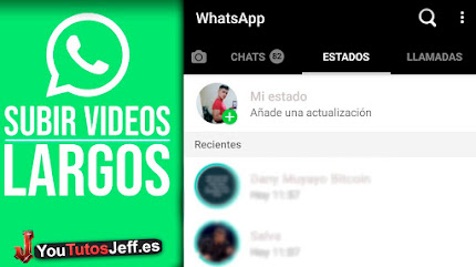 Como Subir Vídeos Largos en Whatsapp Stories