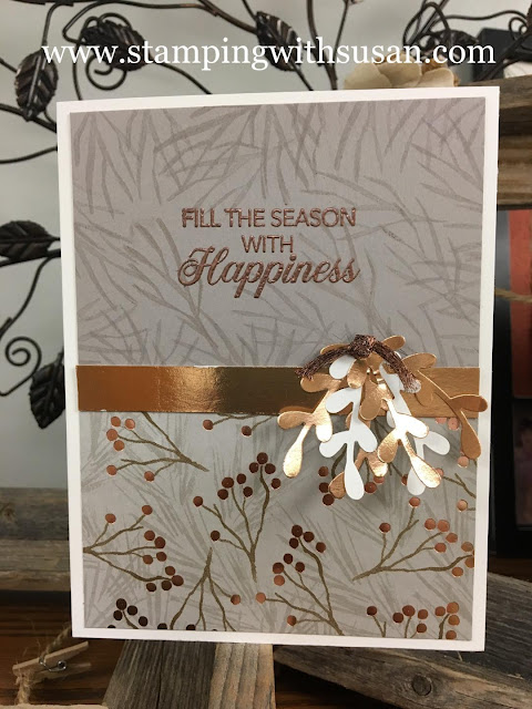 Stampin' Up!, Joyous Noel, www.stampingwithsusan.com, Stampin' Up! 2018 Holiday Catalog