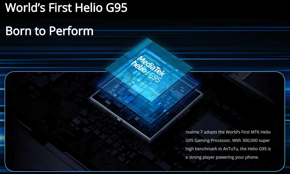 Kelebihan Realme 7 Menggunakan Helio G95 Processor Untuk Kepantasan Gaming
