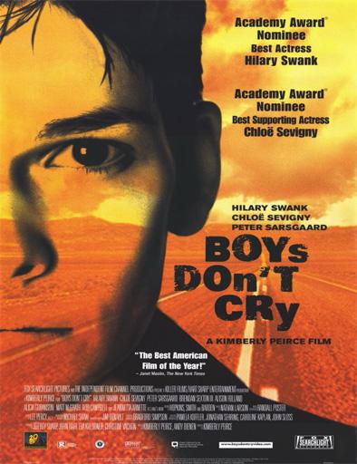 Ver Los muchachos no lloran (Boys Don't Cry) (1999) Online
