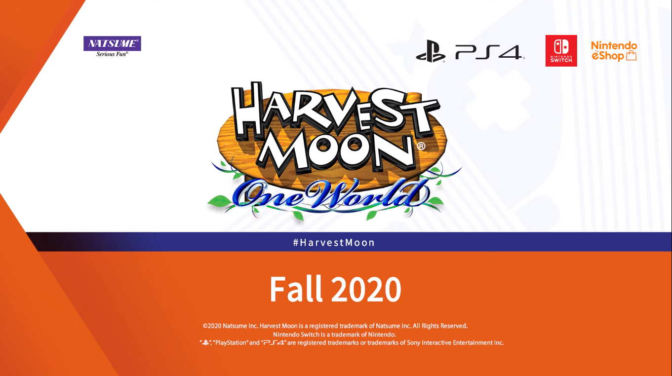 Inilah Trailer Pertama Game Harvest Moon: One World