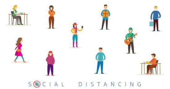 Pentingnya Social Distancing Sebagai Bentuk Pencegahan Penularan Virus Corona
