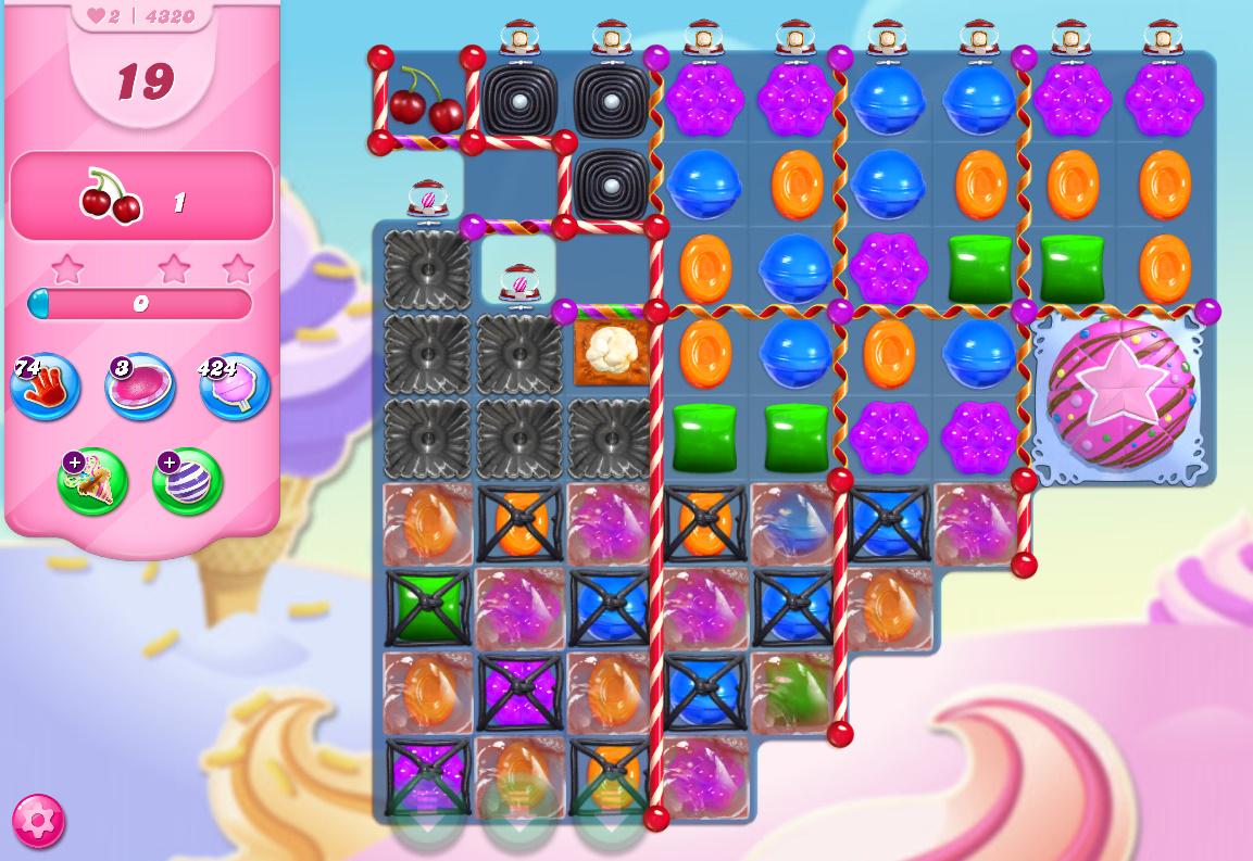 Candy Crush Saga level 4232