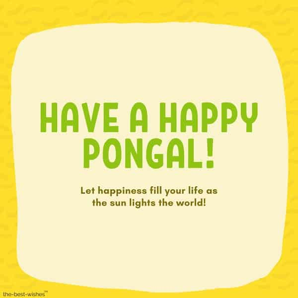 have a happy pongal wishes