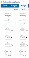 hladnoća snijeg vremenska prognoza slike otok Brač Online