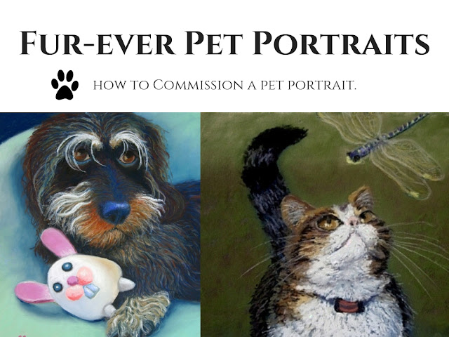 Commission Pet Portraits by Minaz Jantz