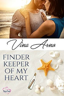 Finder Keeper Of My Heart - a sweet new adult romance by Vina Arno