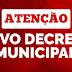 Alto Taquari| Decreto Municipal estabelece novas medidas restritivas para enfrentamento à pandemia no município