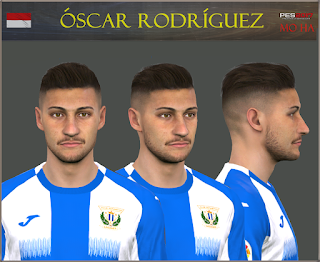 PES 2017 Faces Oscar Rodriguez by Mo Ha