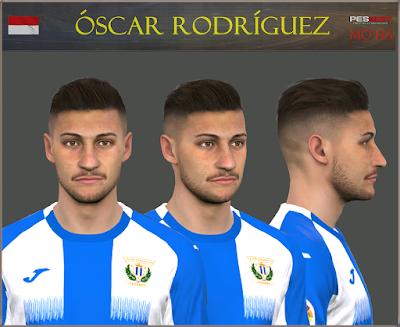 PES 2017 Faces Oscar Rodriguez by Mo Ha