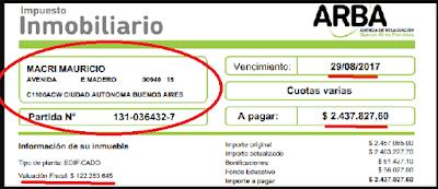 Te mienten en la cara: 32,5 hectáreas del conurbano bonaerense que no figuran en ninguna declaración de bienes de macri